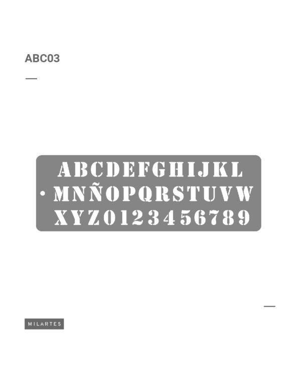 ABC 3 Letras