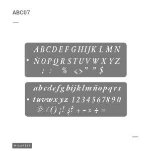ABC 7 Letras