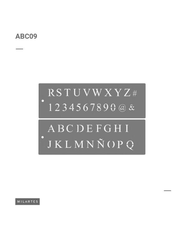 ABC 9 Letras