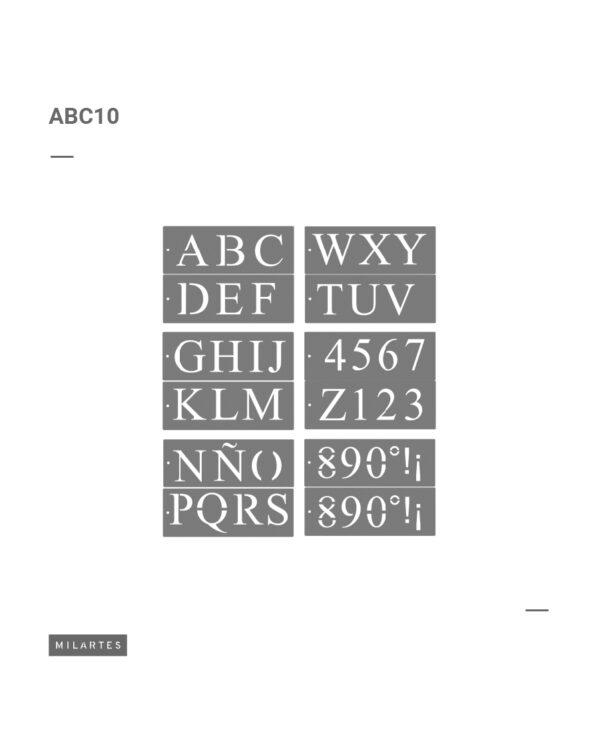 ABC 10 Letras