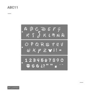 ABC 11 Letras