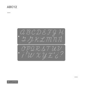 ABC 12 Letras Mayúsculas