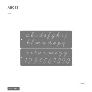ABC 13 Letras