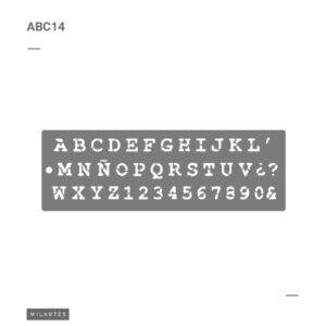 ABC 14 Letras