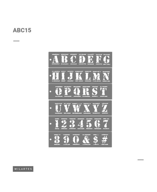 ABC 15 Letras