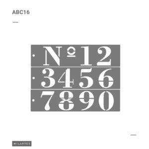 ABC 16 Números